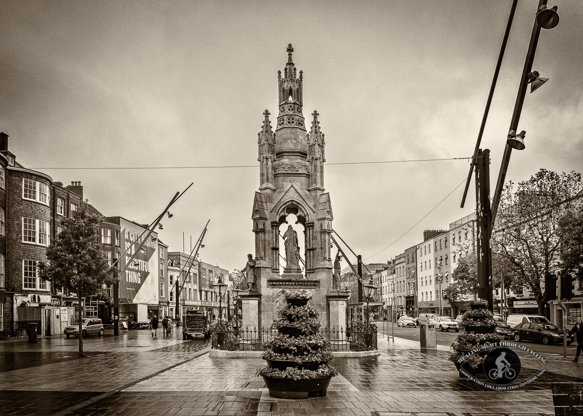 Cork National Monument - Cork City - County Cork - Vignette - Sepia