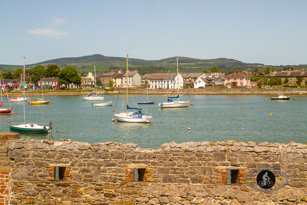 Dungarvan town from the Castle