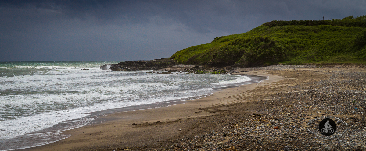 Ennereilly Beach County Wicklow - panorama