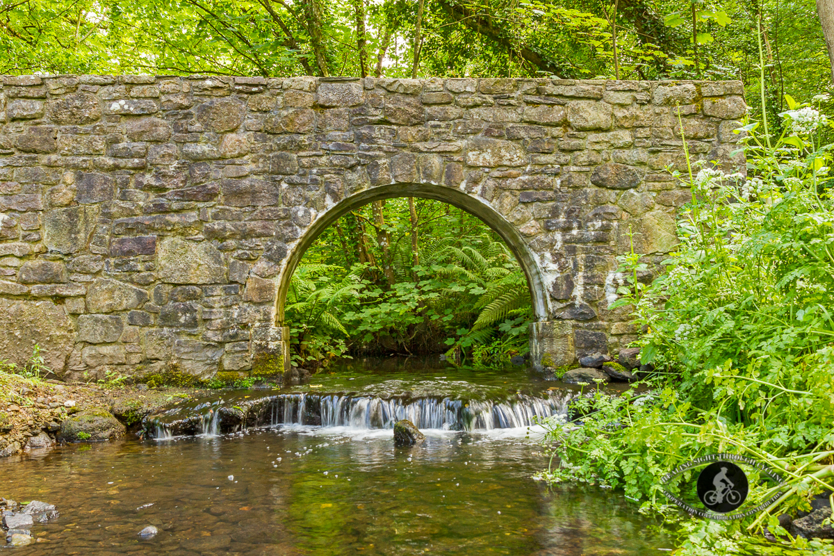 Old arch over stream under Dunmore Rd Bridge - County Waterford