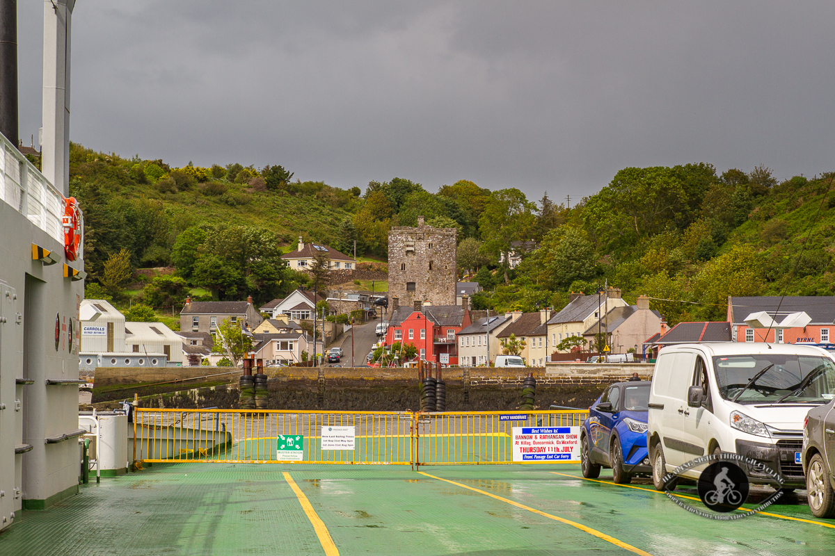 On the ferry from Ballyhack to Passage East County Waterford
