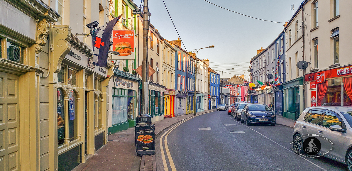 Road in Youghal at sunset - 2