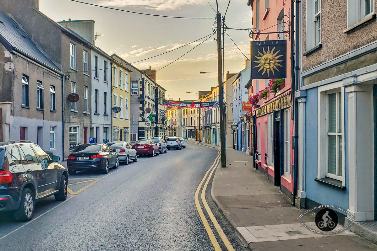Road in Youghal at sunset - 3
