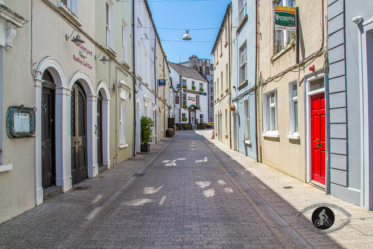 Street into the Viking Triangle - Waterford