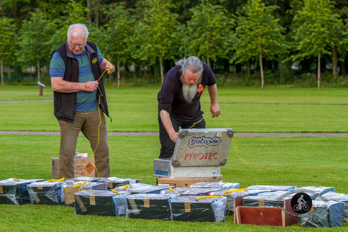 Galaxis Pyrotec - Getting fireworks ready - 3