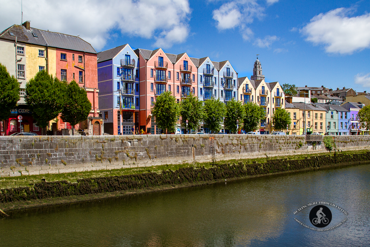 Houses on Popes Quay over the River Lee - Cork City - County Cork 2