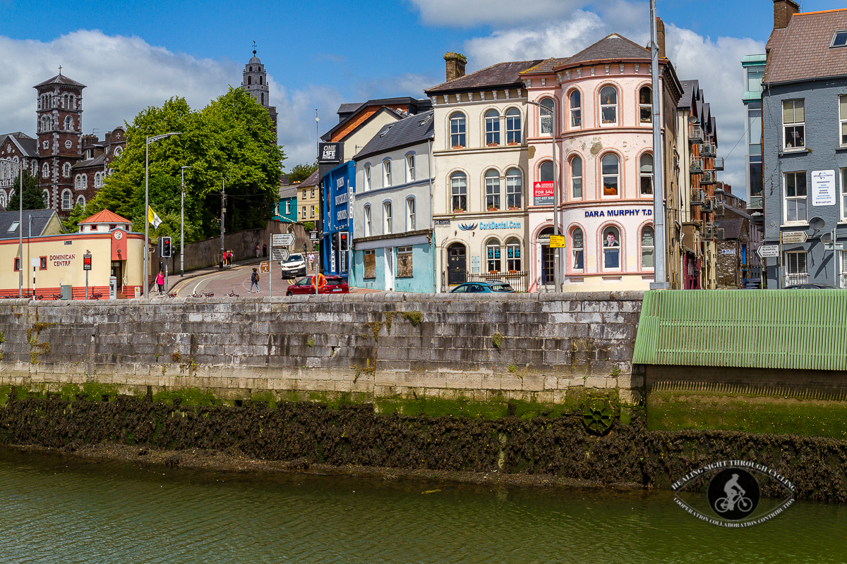 Popes Quay over the River Lee - Cork City - County Cork