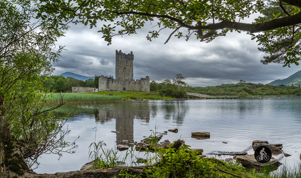 Ross Castle - Killarney - County Kerry - Panorama From the other side of the lake
