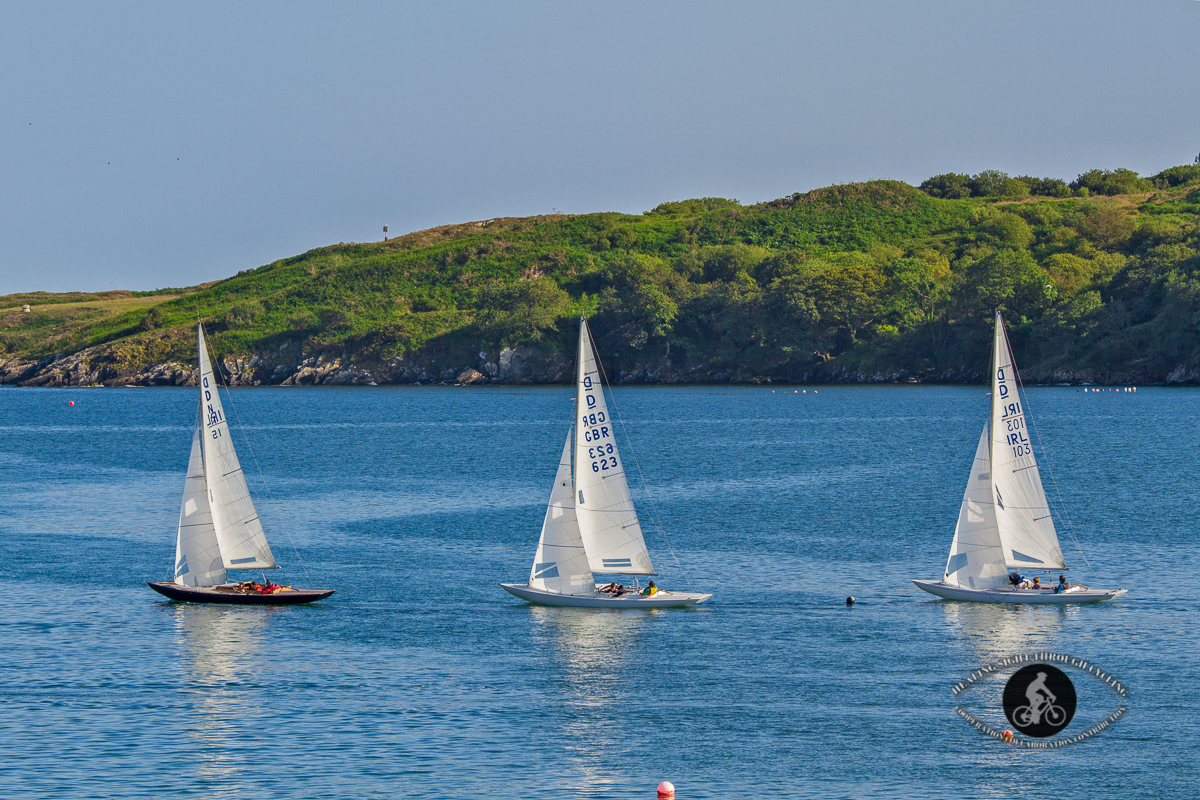 Sailboats in the bay - Glandore - County Cork