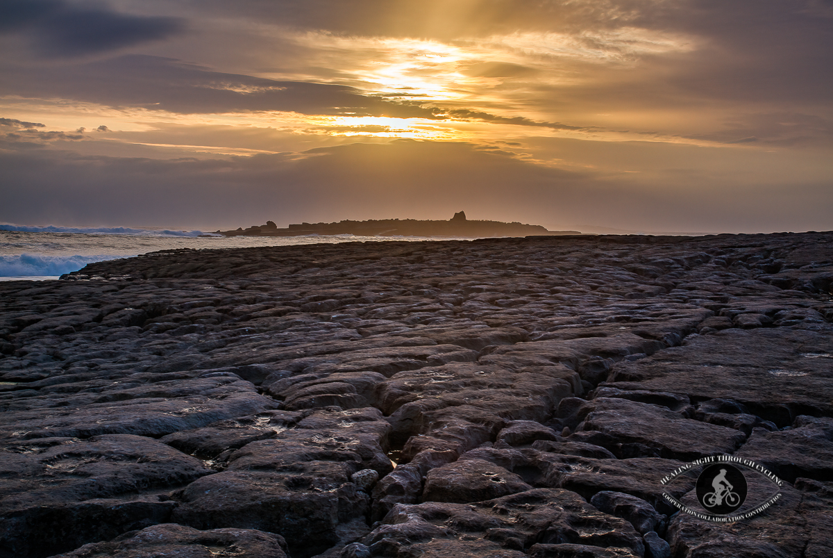 Crab Island off Doolin Harbour - LAte Sunset