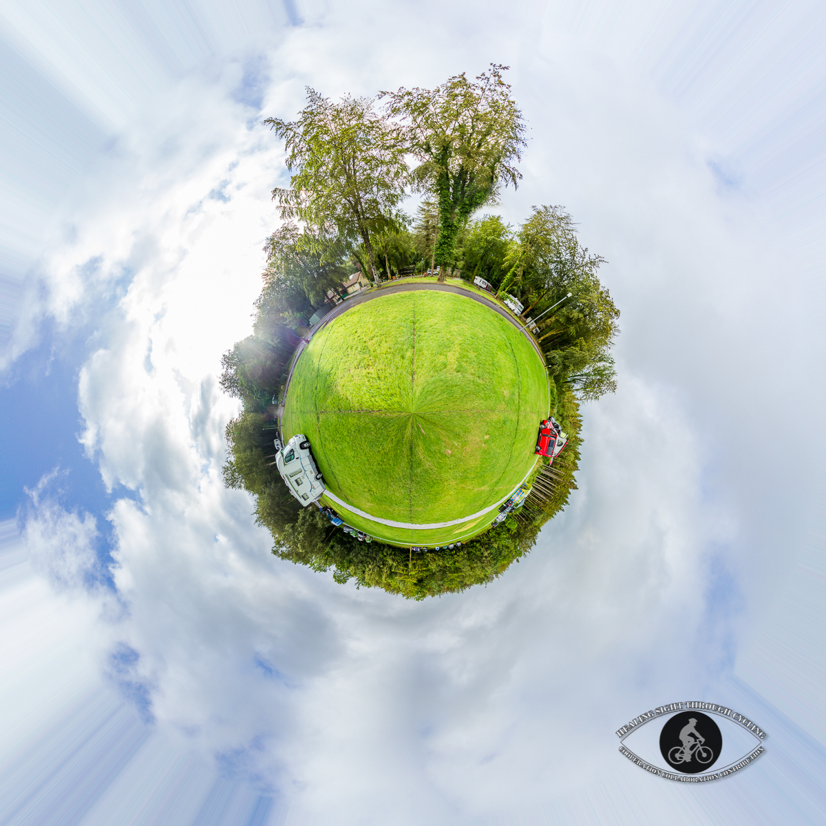Curraghchase Forest Park Little planet