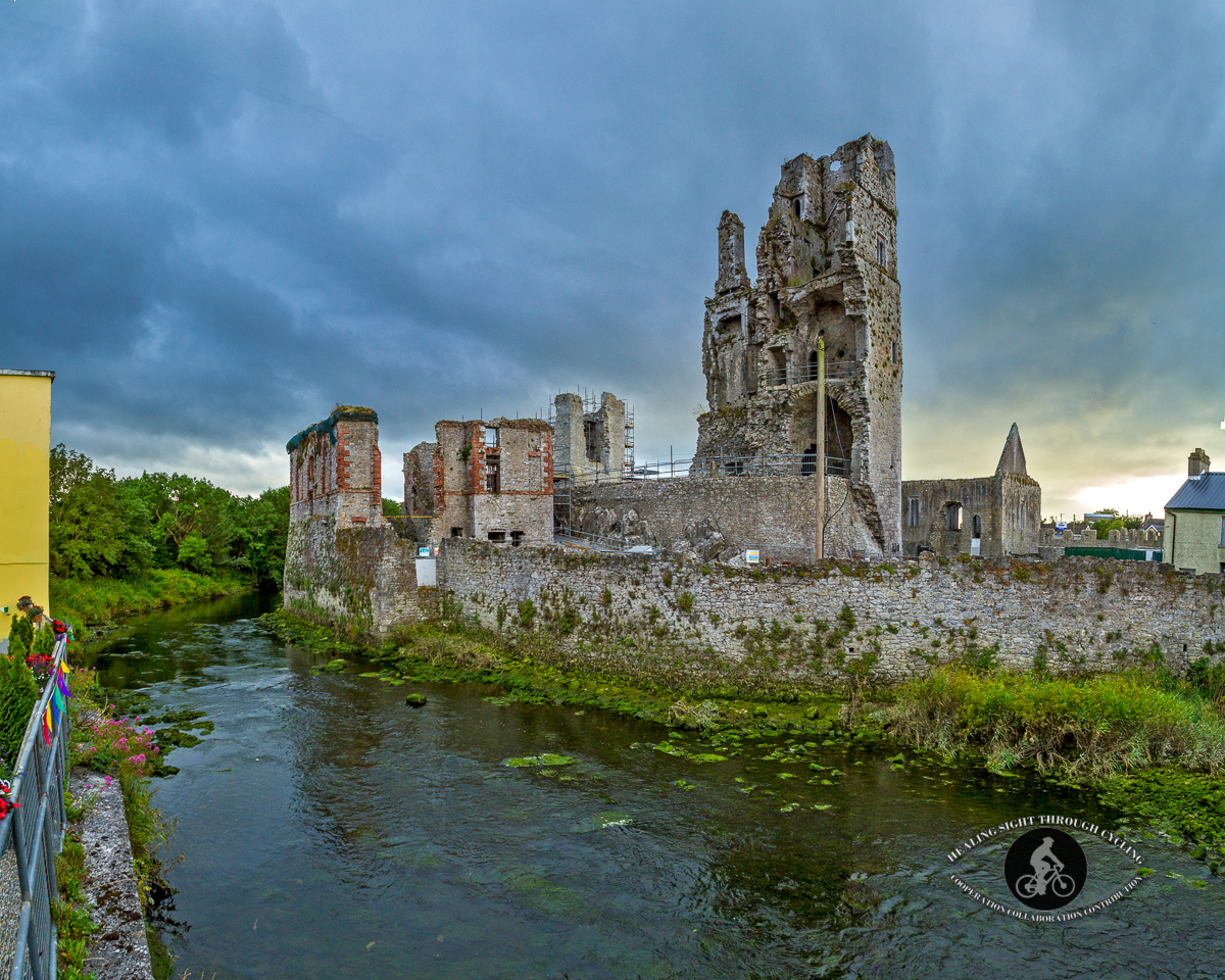 Desmond Castle and the Hellfire Club over River Deel - Askeaton - County Limerick