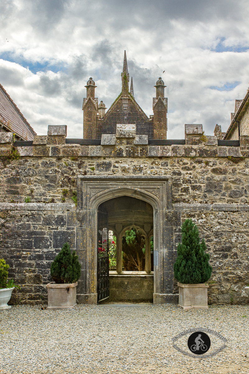 Entry to inner garden in the Adare Augustinian Friary - County Limerick