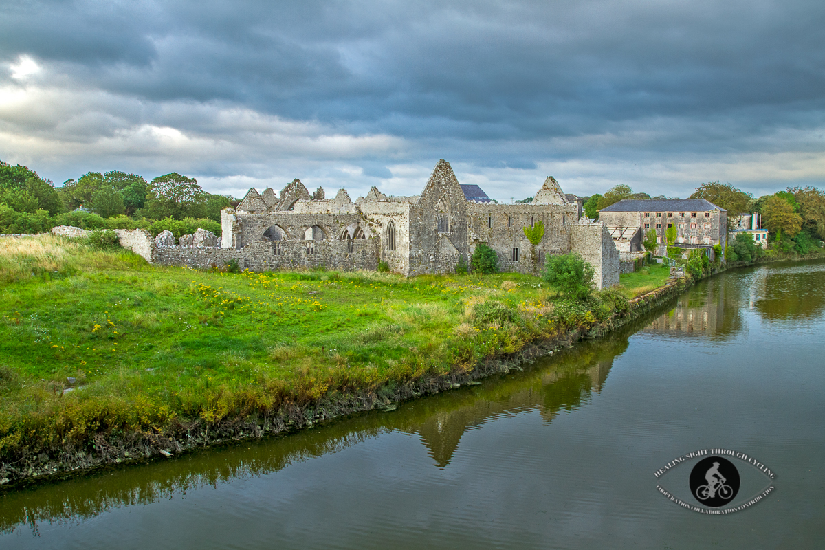 Franciscan Abbey over River Deel - County Limerick
