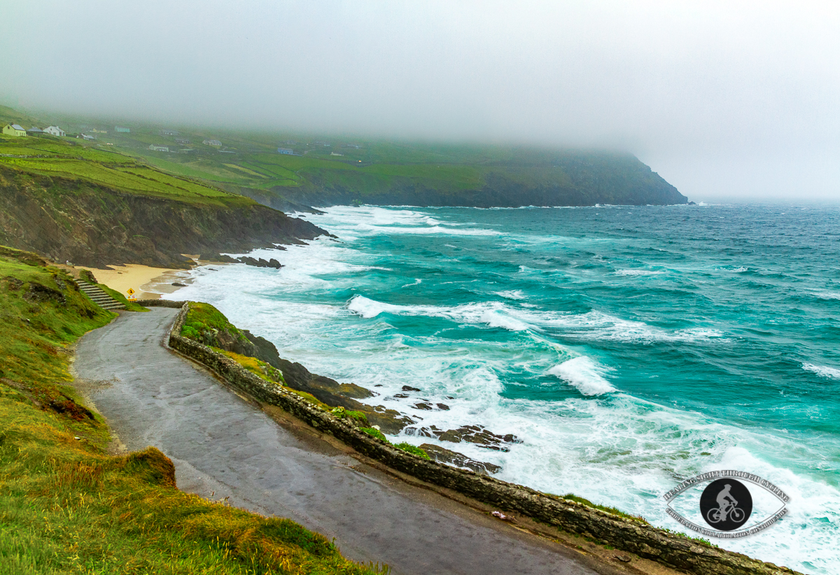 Ocean and shore in Dingle