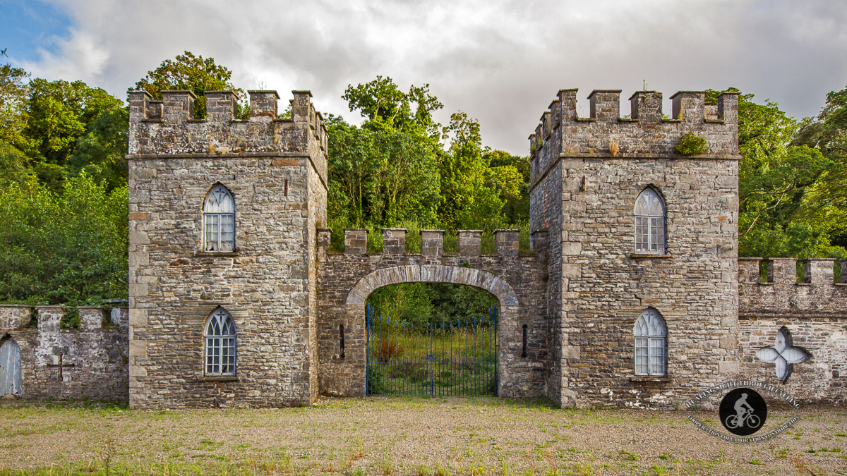 Old entrance to Glin Castle County Limerick