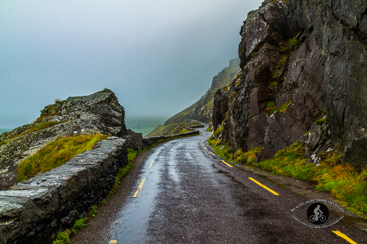 Road through the mountains to Dingle