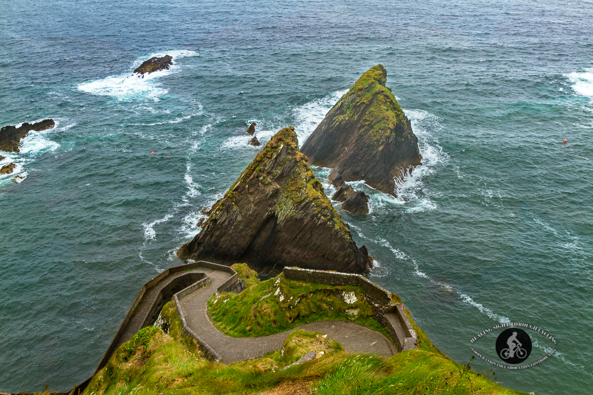 Sheep highway at Dunquin Pier County Kerry