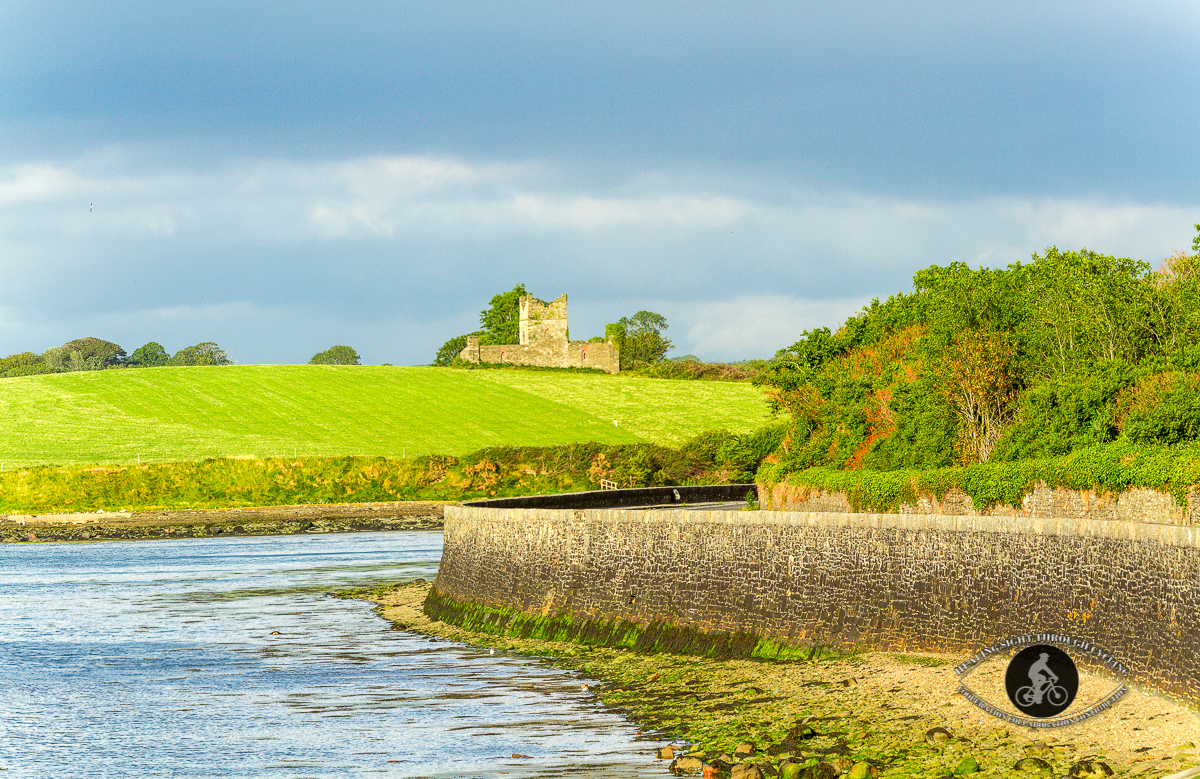 Unknown castle on Coast Road - County Limerick