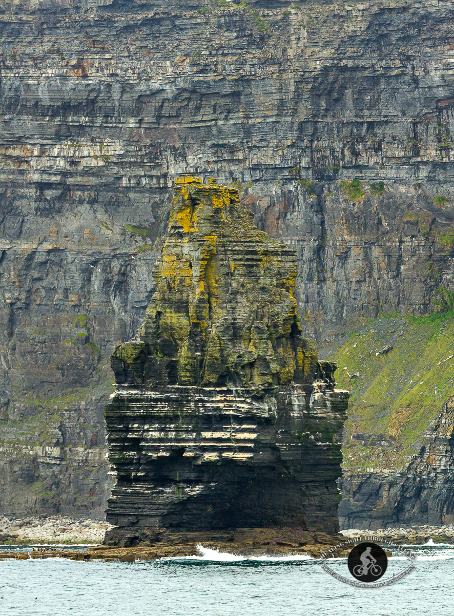 Branaumore Sea Stack at the Cliffs of Moher - 2
