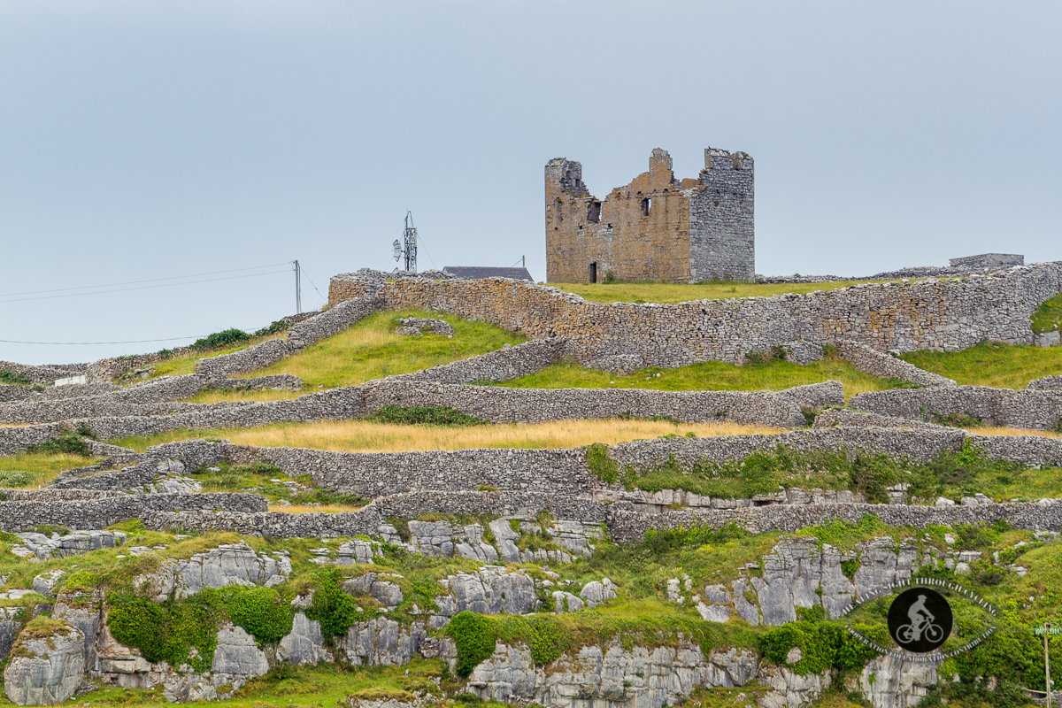 Old Tower Ruin on Inisheer - close-up