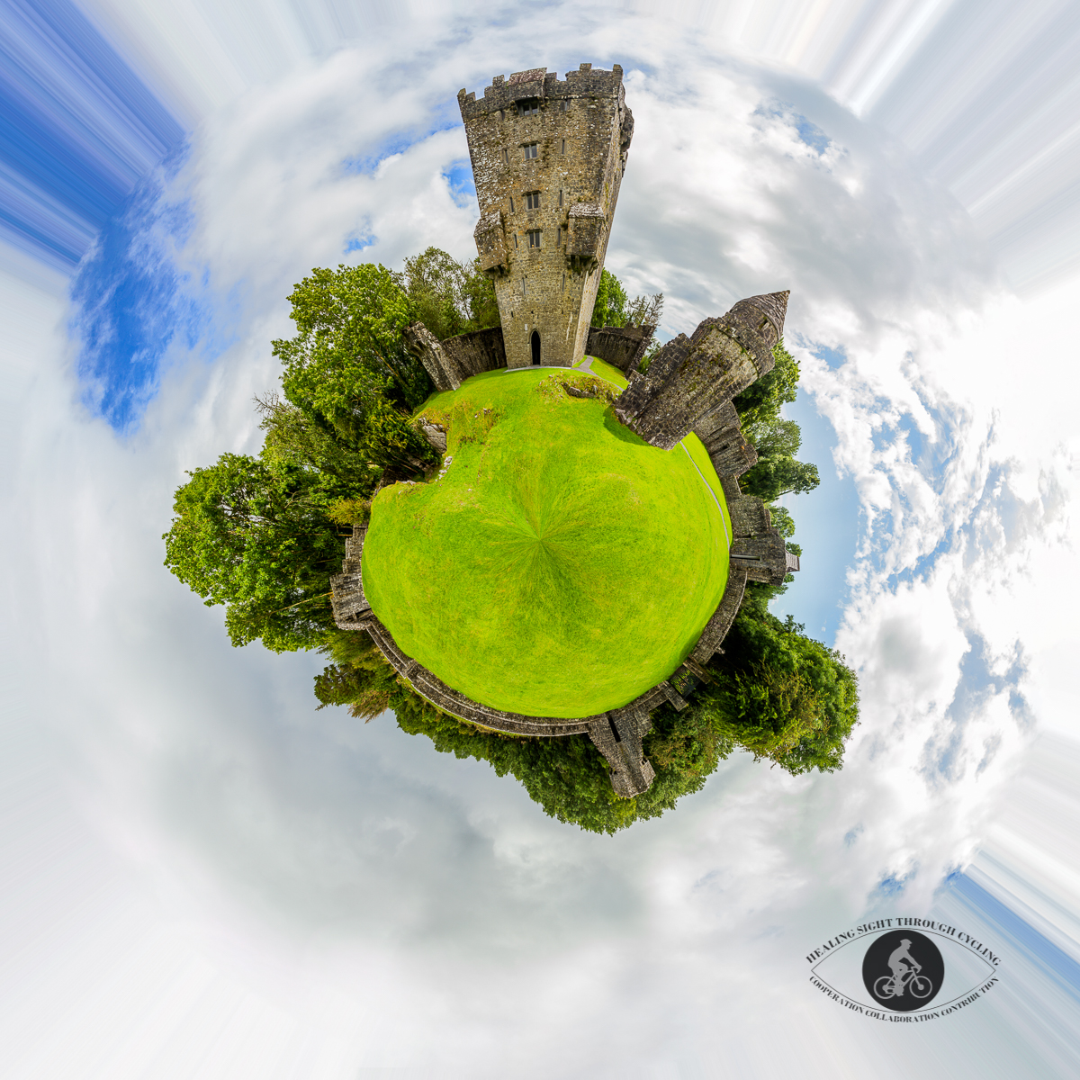 Aughnanure castle - Little planet - County Galway