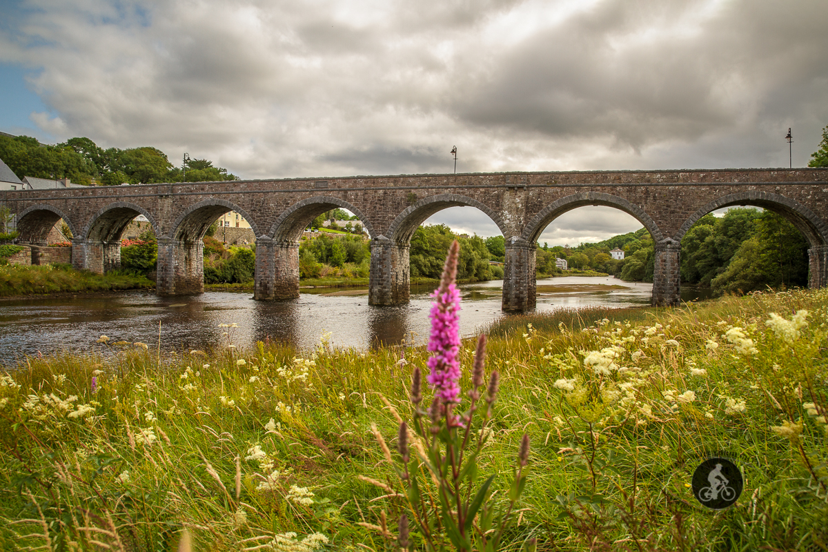 Newport Aquaduct early evening - County Mayo