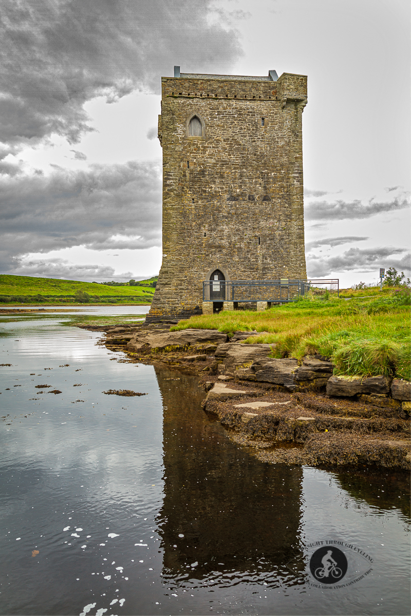 Carrickahowley or Rockfleet Castle and reflection -Grace O'Malley Pirate Queens Holdings - County Mayo