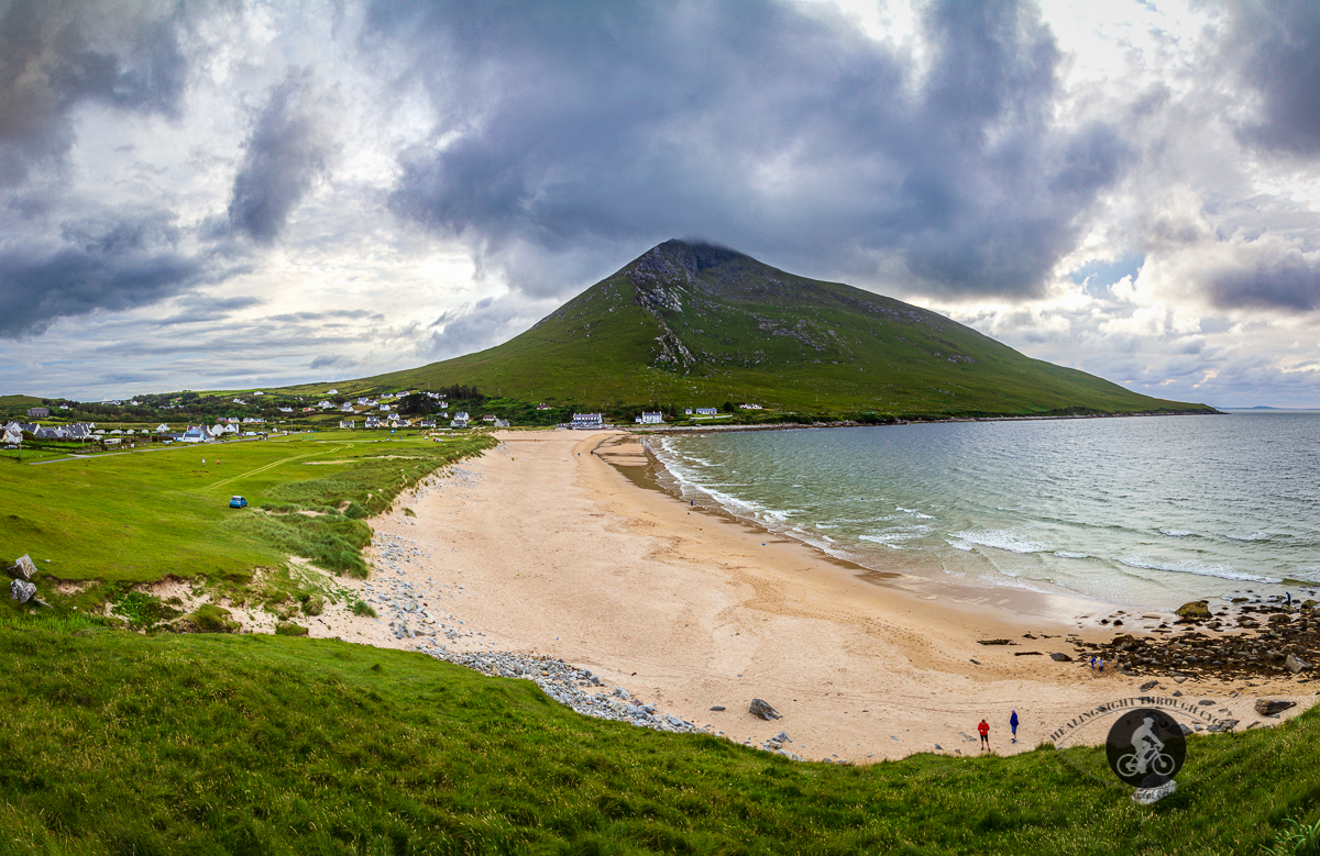 Dugort Beach and Slievemore Mountain Achill Island