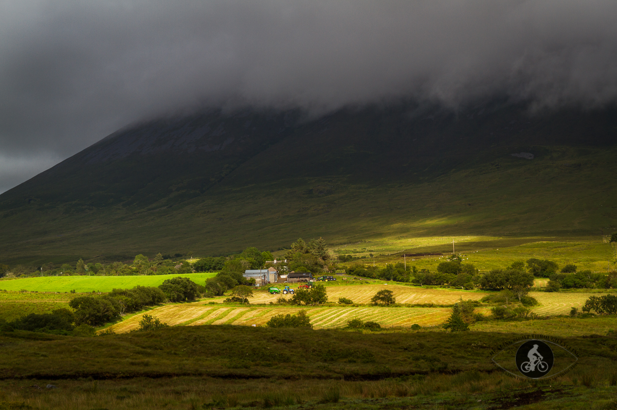 Farm house at the bottom of Nephin Mountain - County Mayo - B