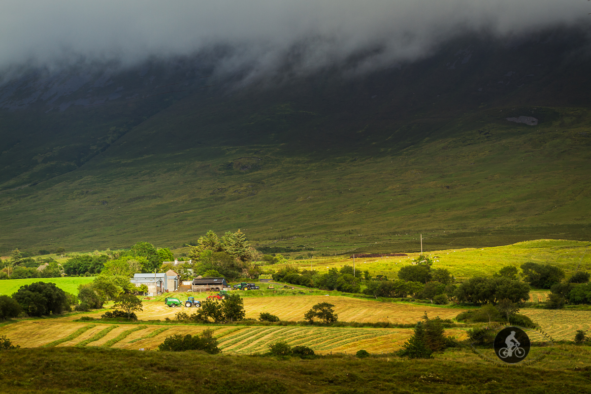 Farm house at the bottom of Nephin Mountain - County Mayo